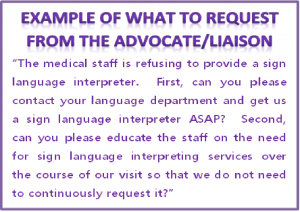 Hospitals Refuse Sign Language Interpreting Services